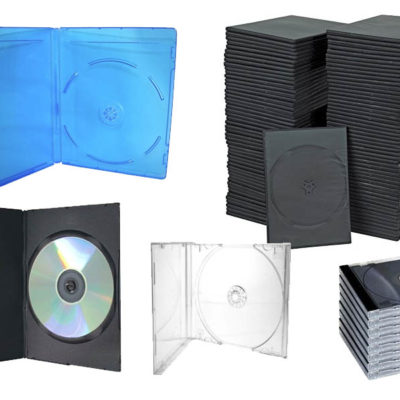 Estuches para CD DVD y BLURAY