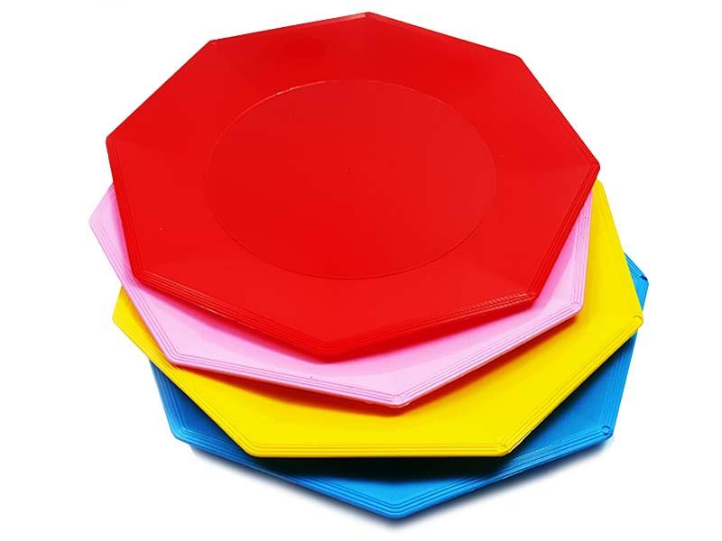 platos hexagonales AYF